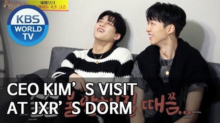 CEO Kim's visit at JXR's dorm [Boss in the Mirror/ENG/]
