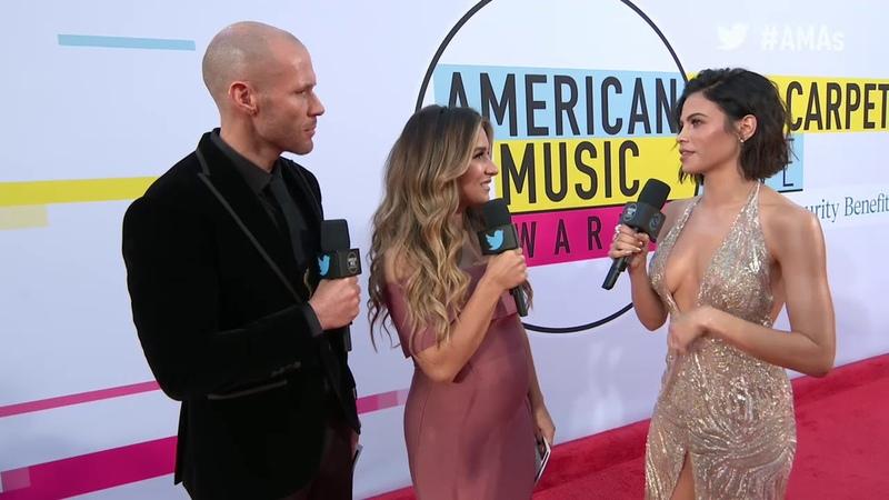 Jenna Dewan Tatum Interview AMAs Red Carpet 2017