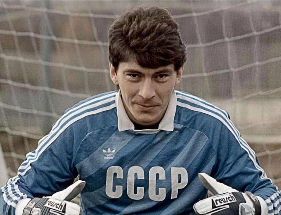 Ринат Дасаев, вратарь сборной СССР