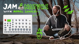 SYNTHWAVE 🌲 JAM NATURE with Elektron Model Samples 🙂