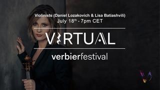 Virtual Verbier Festival – DG presents Daniel Lozakovich & Lisa Batiashvili