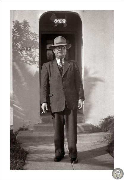 Причудливые ретро фотографии из коллекции Стива Гивена (1900-1960)