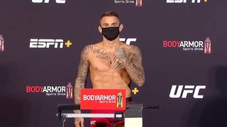 UFC Вегас 4: Церемония взвешивания