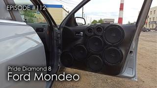 Обшивки Ford Mondeo   6 пар Pride Diamond 8 #magicsound_nt