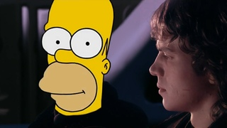 [AI Voice] Homer tells the legend of Darth Plagueis the Wise