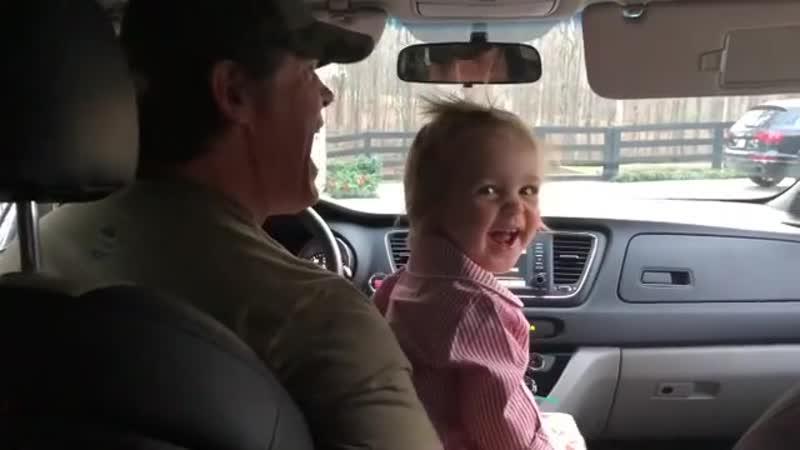 Джош Бролин с дочкой