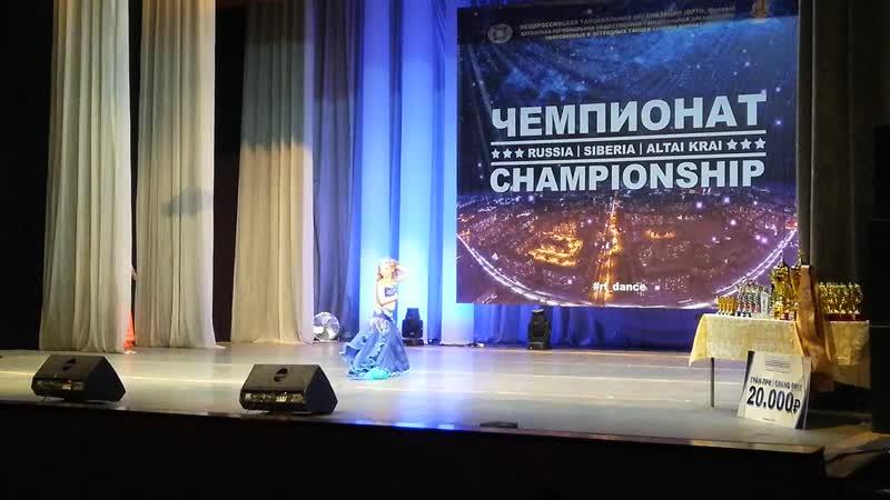 Саблина Татьяна дети классика 3 место Орто Высшая лига чемпионов 2019