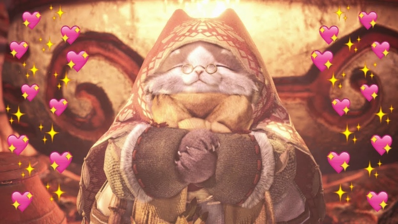 *NEW* Canteen Cinematic Grammeowster Chef 4k Resolution MHW Iceborne Xbox One X