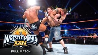 FULL MATCH - Randy Orton vs. John Cena vs. Triple H - WWE Title Match: WrestleMania XXIV