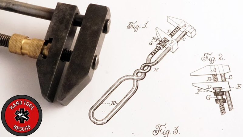 1883 Wrench Patent Resurrection