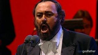 Luciano Pavarotti – La Mia Canzone Al Vento  ᴴᴰ