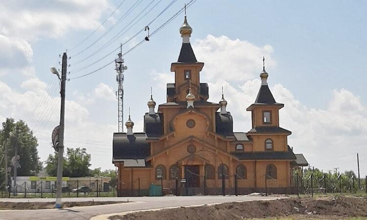 Ещё один храм на площади Революции ждёт своих прихожан в Первомайске