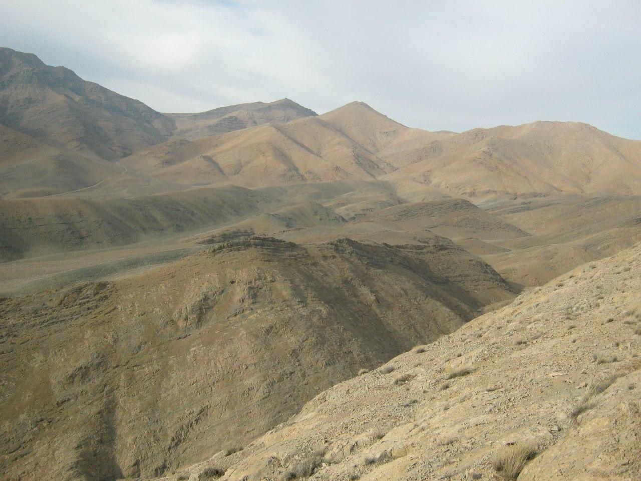 Горы около Махаллат