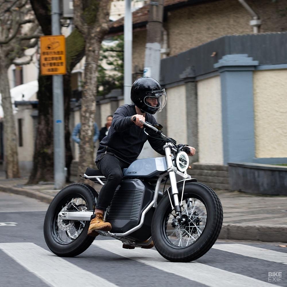 Switch Motorcycles: электроцикл eScrambler