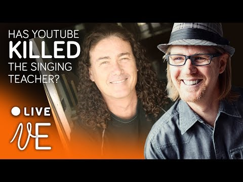Learning to Sing and DIGITAL DISRUPTION LIVE HANGOUT with DrDan 🔴