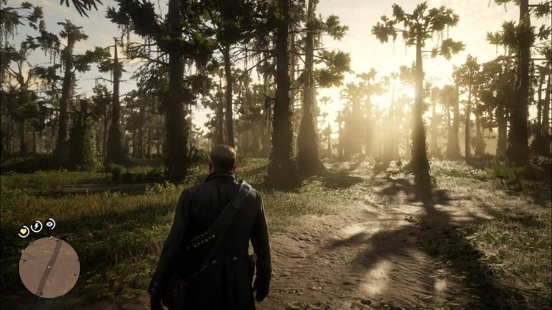 Xbox One X Red Dead Redemption 2 4k Gameplay