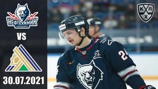 НЕФТЕХИМИК - САЛАВАТ ЮЛАЕВ ()/ ТОВАРИЩЕСКИЙ МАТЧ/ KHL В NHL 20 ОБЗОР МАТЧА