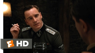 Inglourious Basterds (5/9) Movie CLIP - Go Out Speaking the King's (2009) HD
