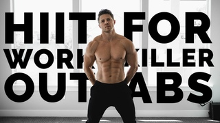 12 Minute FAT BURNING Home Workout For ABS