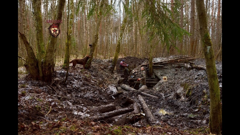 Копаем ГИГАНТСКИЙ артиллерийский немецкий блиндаж Giant German artillery dugout Searching with MD