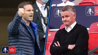 MANAGER CAM | Lampard & Solskjaer Reactions as Chelsea Beat Man United | Emirates FA Cup 19/20