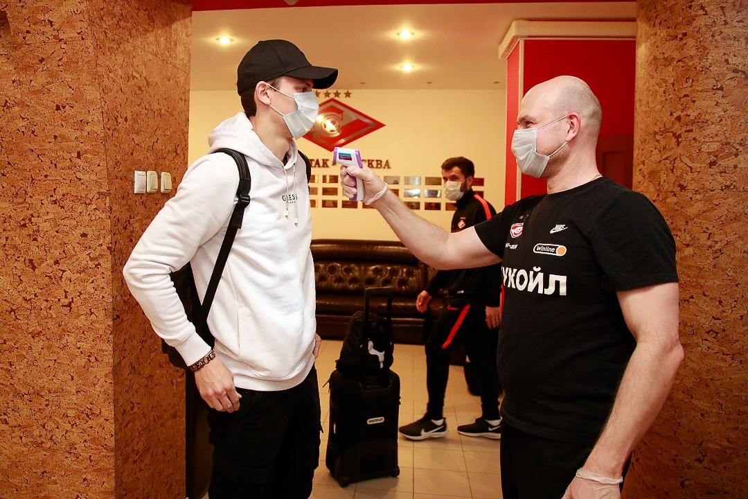 «Спартак» приступает к тренировкам в Тарасовке (Видео)