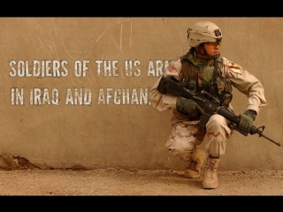 Soldiers of the us army in iraq and afghanistan