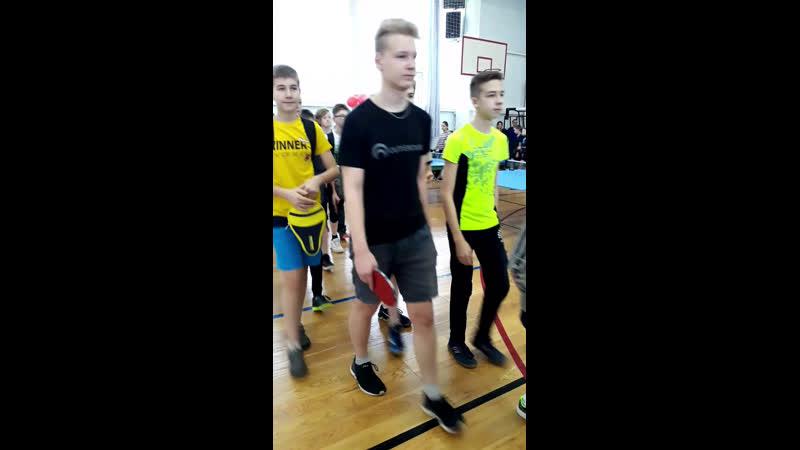 Live: Настольный теннис в Кирове и области