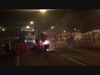 Première coordination franco-belge des gilets jaunes sur la frontière