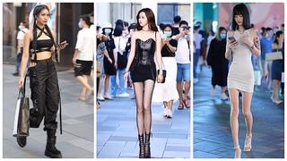 Mejores Street Fashion Tik Tok   Thời Trang Đường Phố Trung Quốc #8