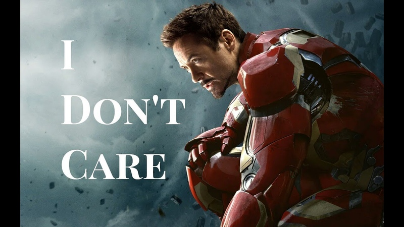 Marvel I am Iron Man I Don't Care