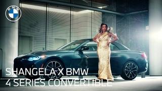 Shangela & the 2021 BMW 4 Series Convertible: Unmatched Fashion | BMW USA