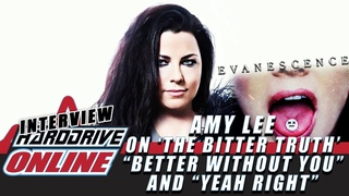 """Evanescence - Amy Lee On 'The Bitter Truth', """"Better Without You"""" & More!!! 