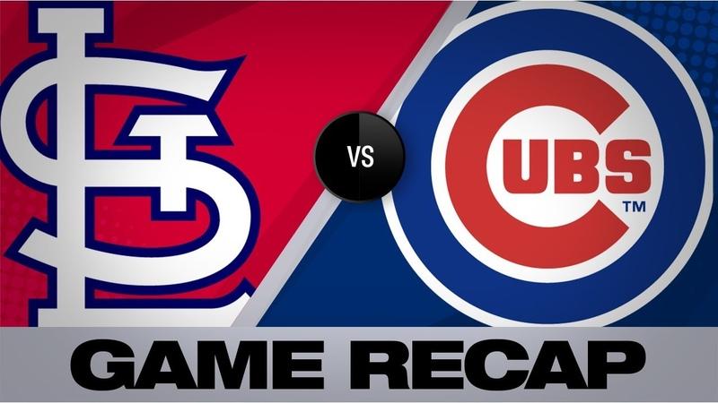 Molina DeJong power Cardinals past Cubs Cardinals Cubs Game Highlights 9 21 19