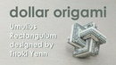 Dollar Origami Tutorial: Impossible Rectangle Umulius Rectangulum aka Magic Rings (Thoki Yenn)