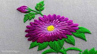 Helpful Hand Embroidery Design||Cute Embroidery Designs||Creative Embroidery||Hand Embroidery-229