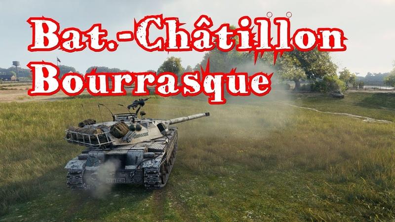 Женская логика World of Tanks Bat Châtillon Bourrasque