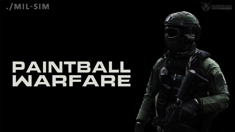 Paintball Warfare Real Life Call of Duty Magfed Warheads Paintball