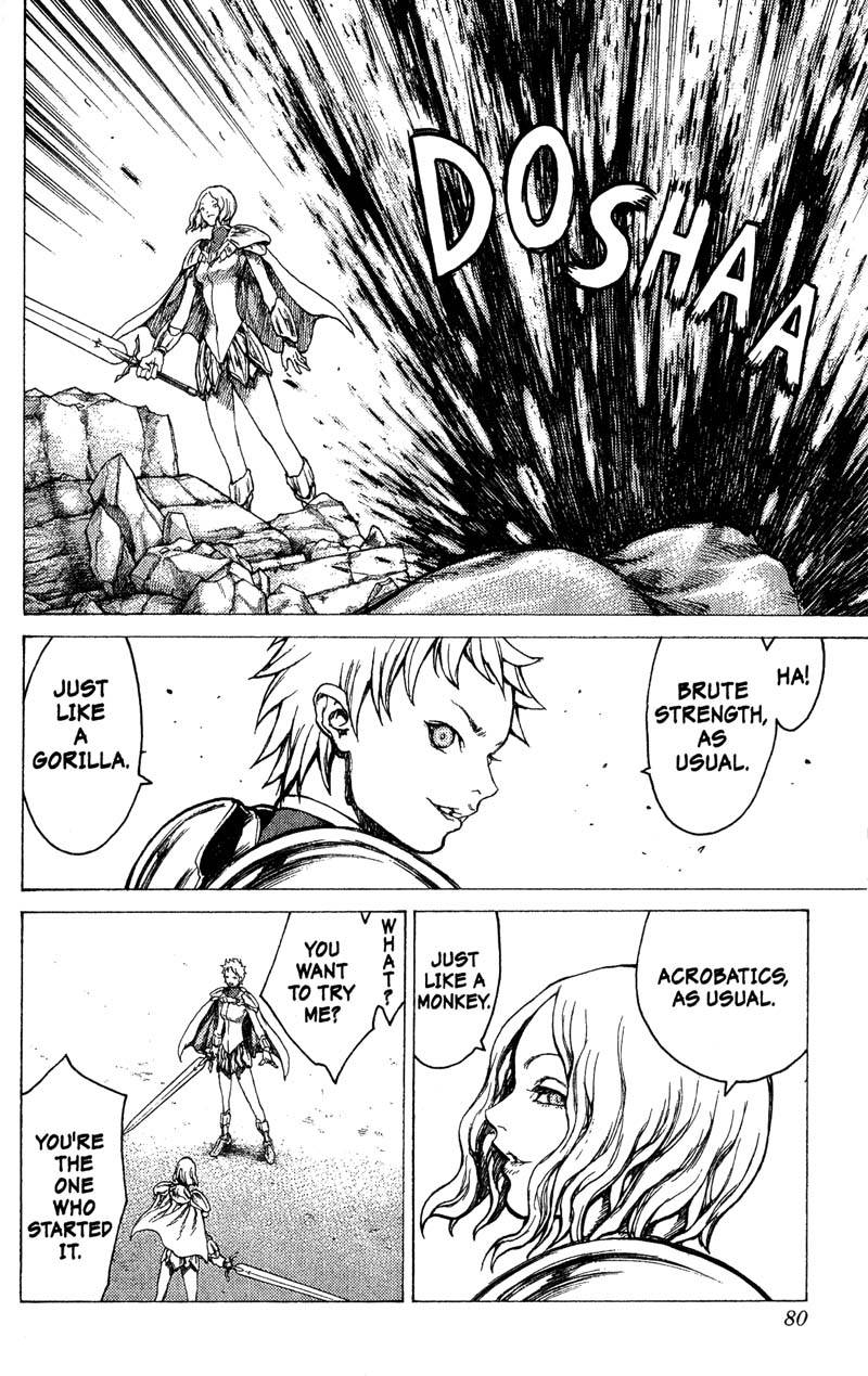 Claymore, Chapter 18, image #9