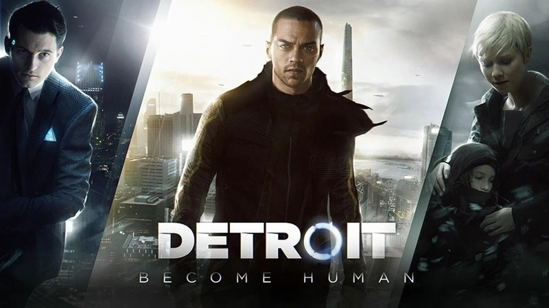 ИГРОФИЛЬМ Detroit Become Human Часть 2 Иерихон