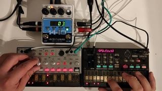 1 Full Hour Volca Jam feat. Electro-Harmonix 1440 Looper (it's 95% Volca Bass even the Beats)
