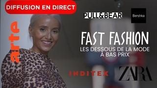🔴 LIVE | Fast fashion - Les dessous de la mode à bas prix | ARTE