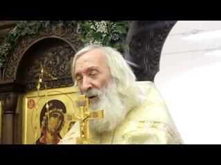 Протоиерей Евгений Соколов. Благодать Святаго Духа - духовная вода, оживляющая душу