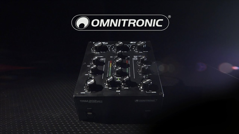 Omnitronic TRM-202MK3 2-Channel Rotary Mixer | Gear4music