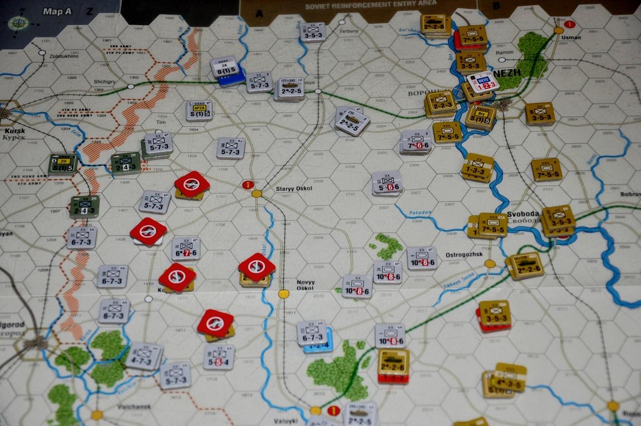 Советские войска начали отступать за Дон, чтобы хоть там сформировать линию фронта
