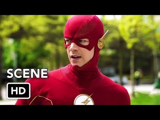 "The Flash 7x17 ""Nora, Bart, and Barry vs. Godspeed Clones"" Scene (HD)"