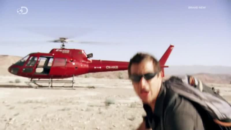 Беар Гриллс по стопам выживших Каньоны 4 серия 720p