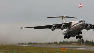 Авиация Минобороны тушит пожары в Якутии