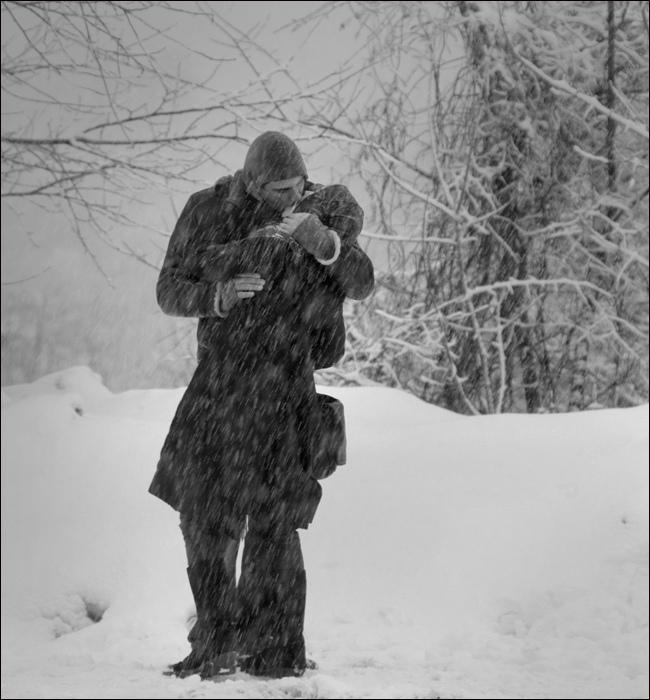 фото пар зимой со спины кстати пиши комментариях