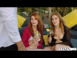 Jia Lissa, Lacy Lennon (Unforgettable) [2020, Threesome, Redhead, Kissing, Pussy Licking, Face Sitting, Cum Swapping, 1080p]